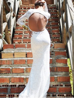 BACK WHITE BRIDAL