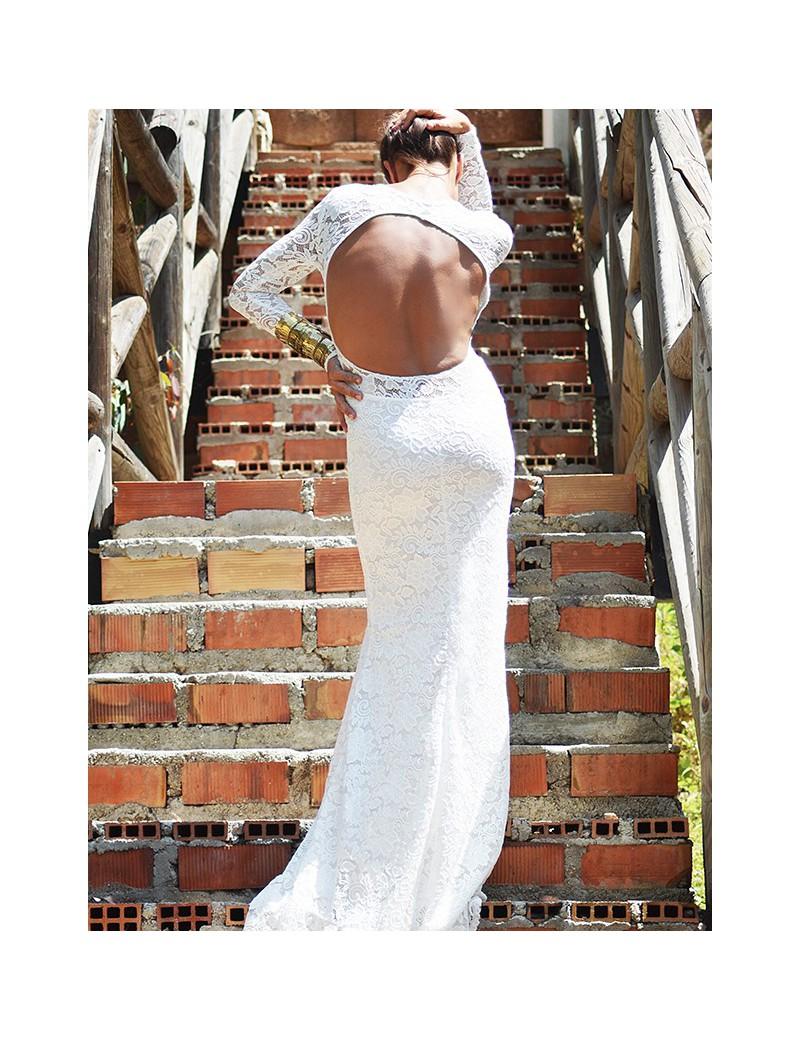 BACK WHITE BRIDAL