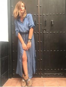 OFFICE BLUE DRESS