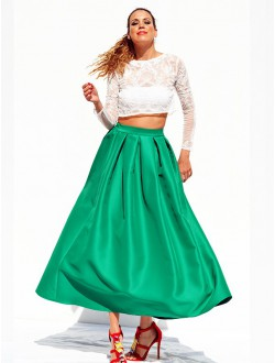 APPLE LONG SKIRT.